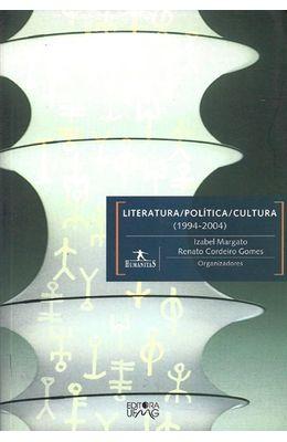 LITERATURA--POLITICA--CULTURA--1994-2004-