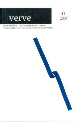 REVISTA-DE-SOCIOLOGIA---VERVE---Nº-11---2007