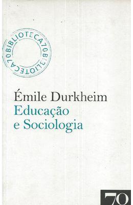 EDUCA��O-E-SOCIOLOGIA
