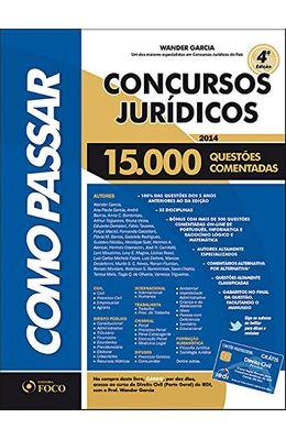 COMO-PASSAR-EM-CONCURSOS-JUR�DICOS---15.000-QUEST�S-COMENTADAS